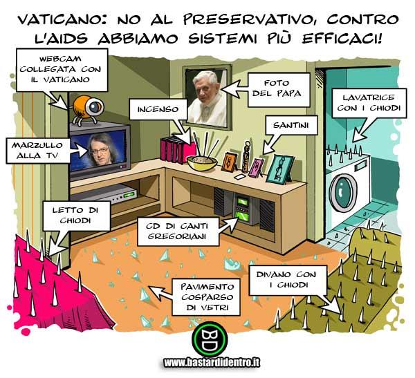 Vaticano: no ai preservativi…