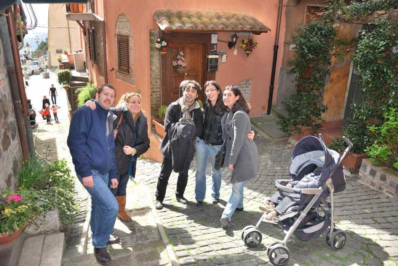 la gita vicino Roma…