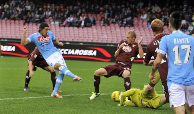 Il Napoli stecca ancora:1-1 col Torino