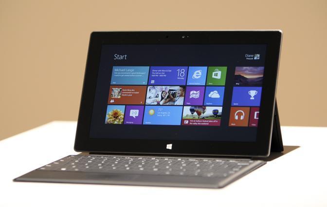 il tablet di Microsoft